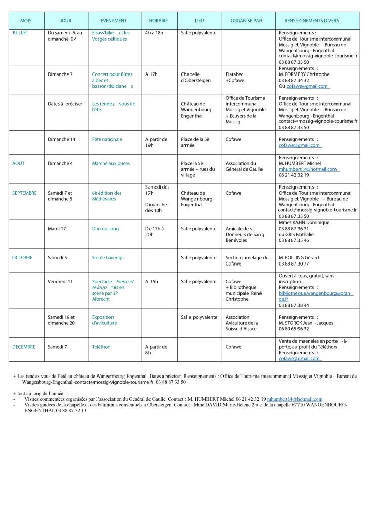 CALENDRIER DES FETES inter-associatif simplifié 2019 2-2